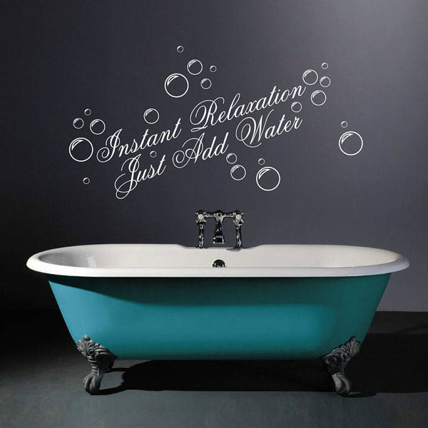 Instant Relaxation Wall Quotes Sticker
