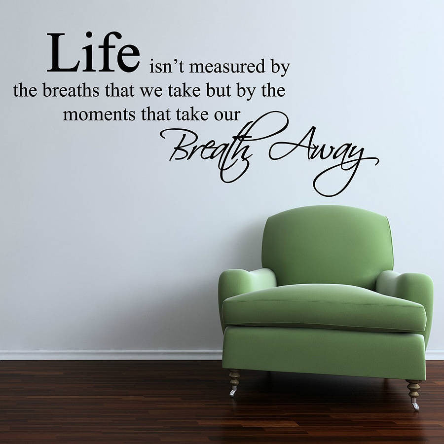 Life Moments Wall Sticker
