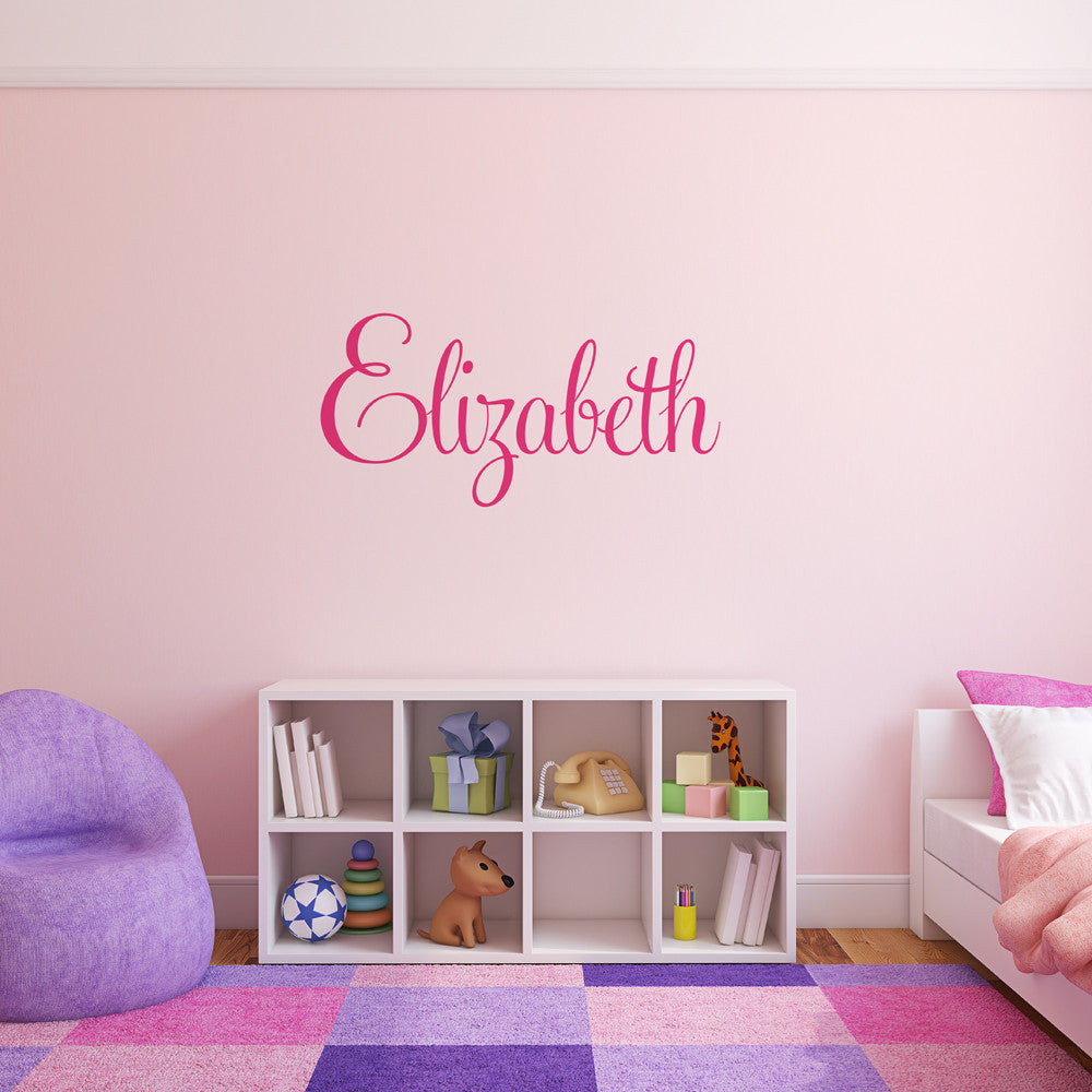 Personalised Name Wall Stickers