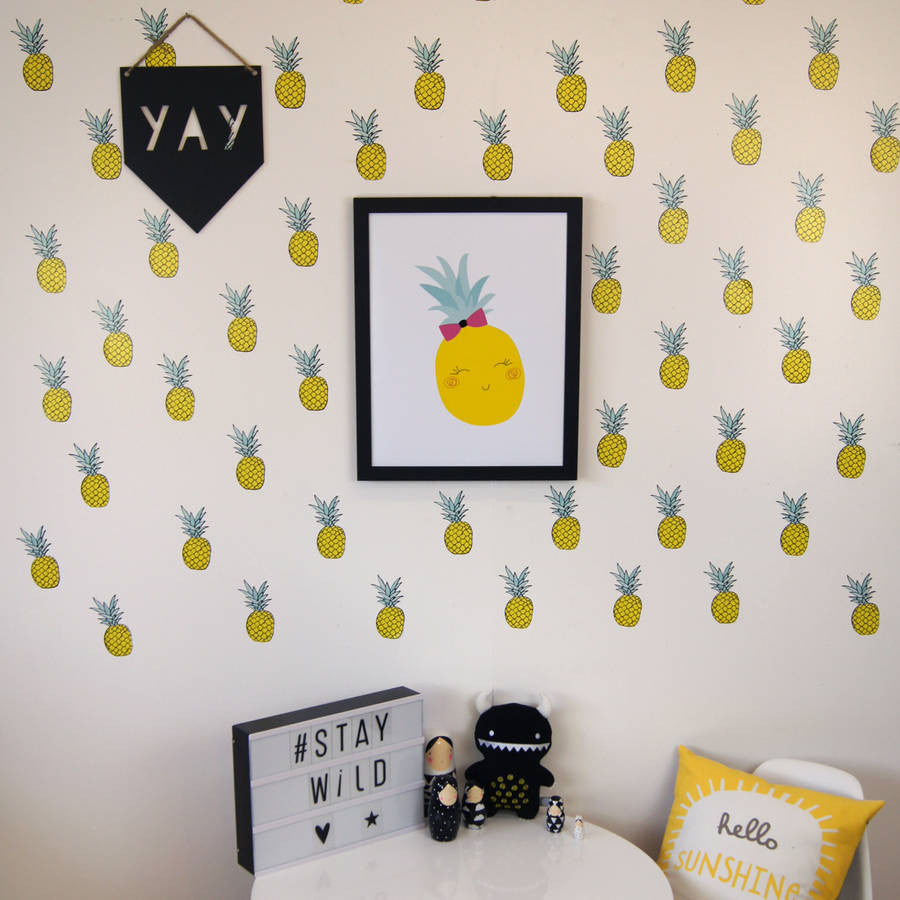 Pineapple Wall Stickers
