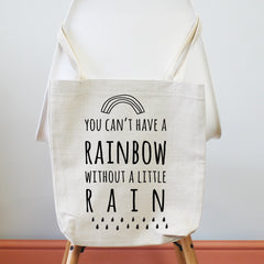 Rainbow Tote Shopping Bag