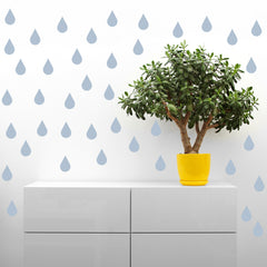 Raindrop Wall Stickers