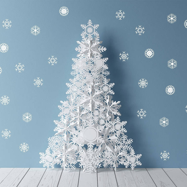 Snowflake Wall Stickers