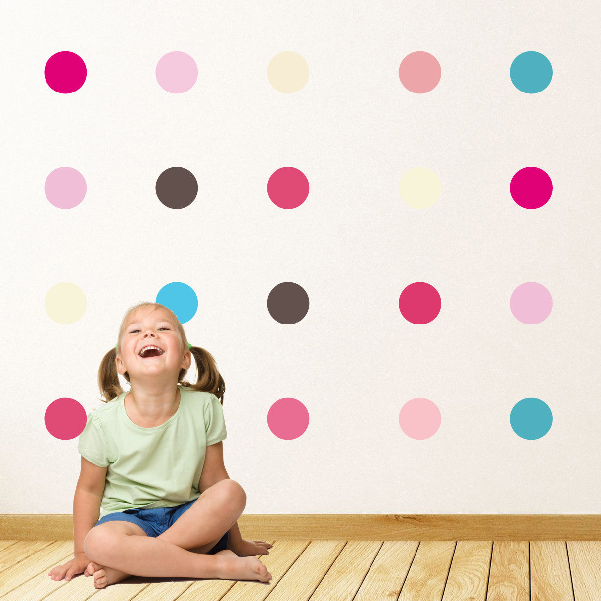 Pastel Spots Wall Stickers