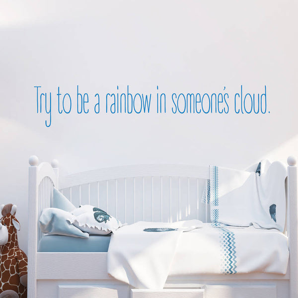 Try To Be A Rainbow Landscape Wall Stickers