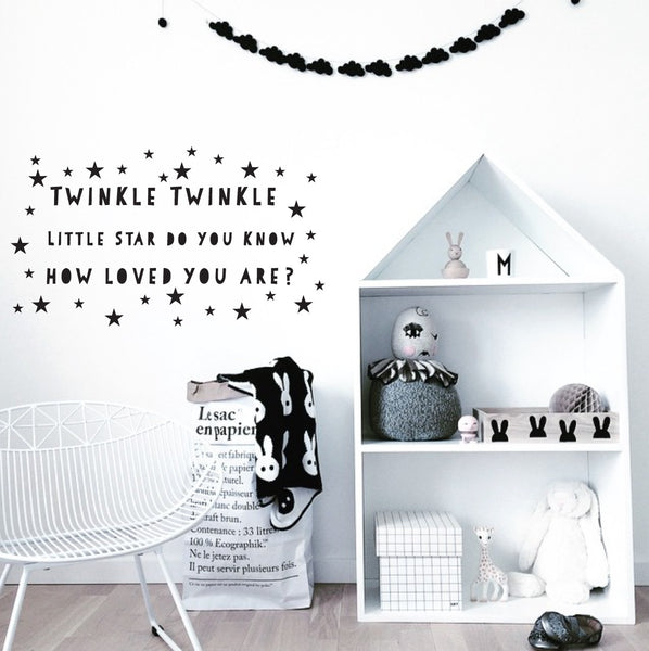 Twinkle Twinkle Little Star Wall Stickers