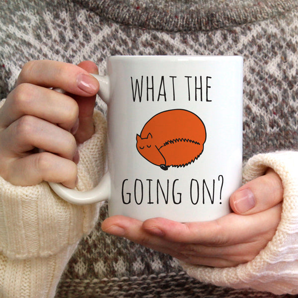 What The Fox Going On Ceramic Mug