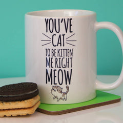 You've Cat To Be Kitten Me! Ceramic Mug