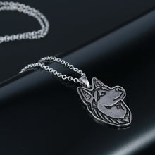 Load image into Gallery viewer, Husky Dog Necklace - DogWoofers, DogWoofer, Dog Woofer, Dog Woofers, Dog Jewelry
