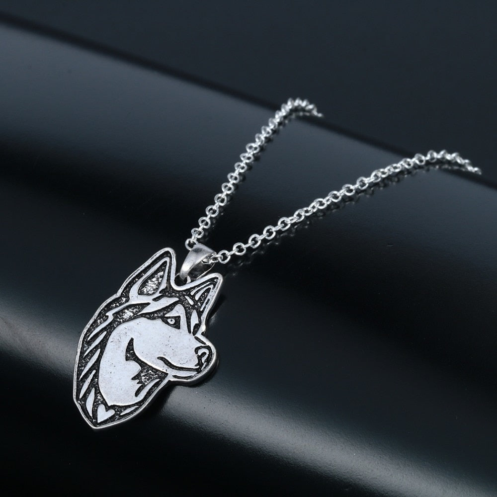 Husky Dog Necklace - DogWoofers, DogWoofer, Dog Woofer, Dog Woofers, Dog Jewelry