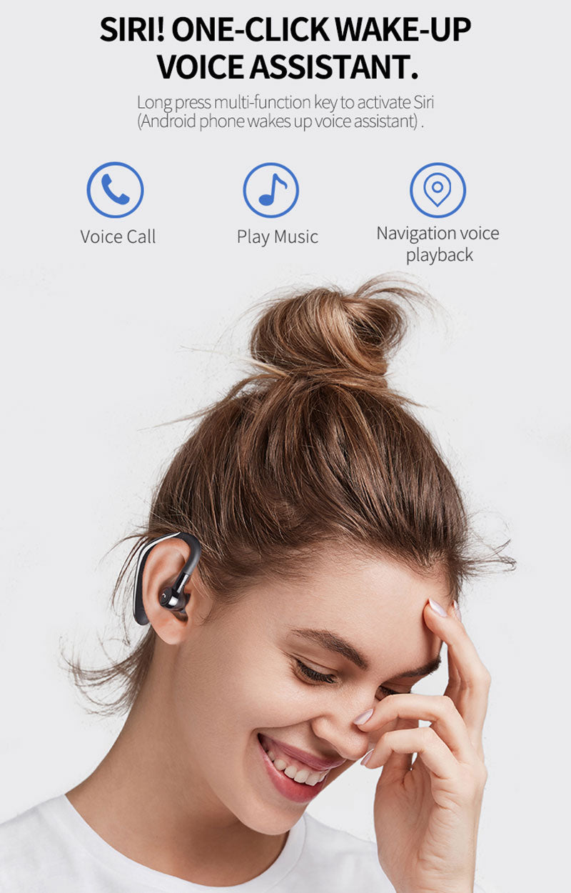 Handsfree Business Noise Cancelling Bluetooth Headset_4