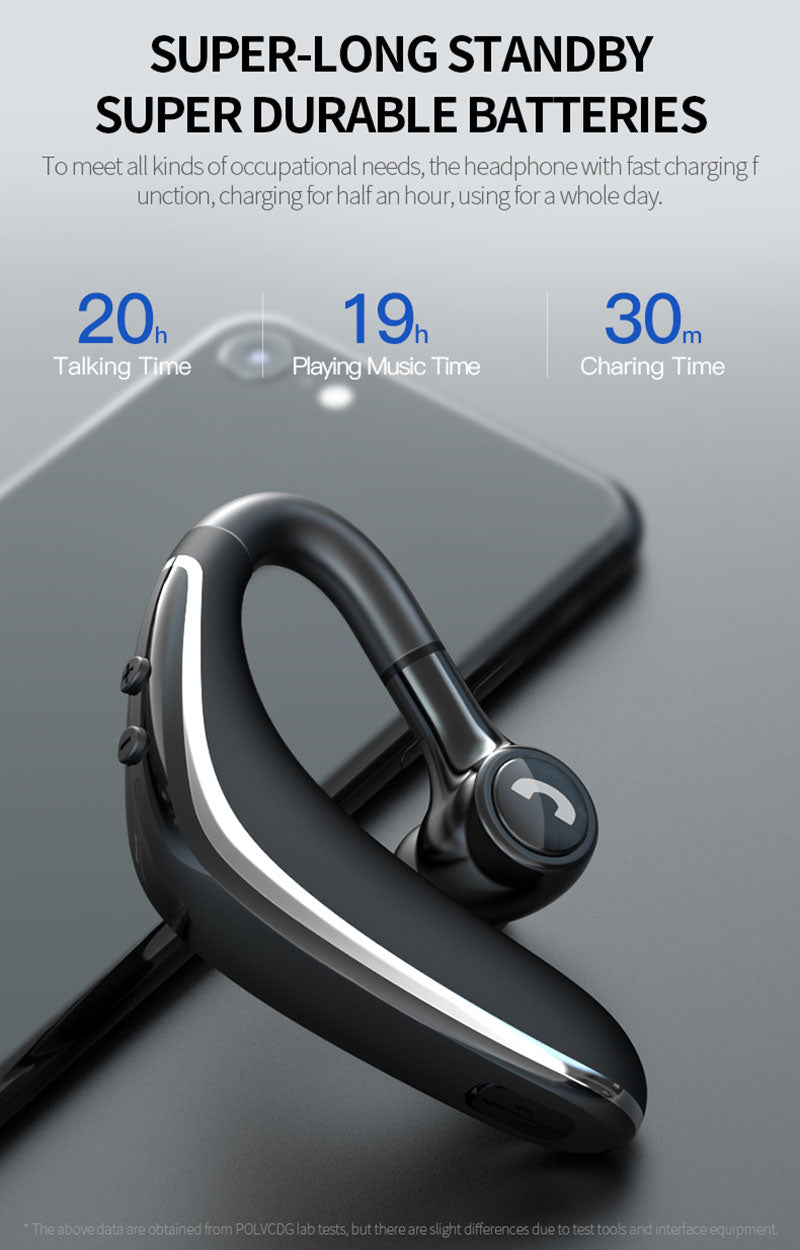 Handsfree Business Noise Cancelling Bluetooth Headset