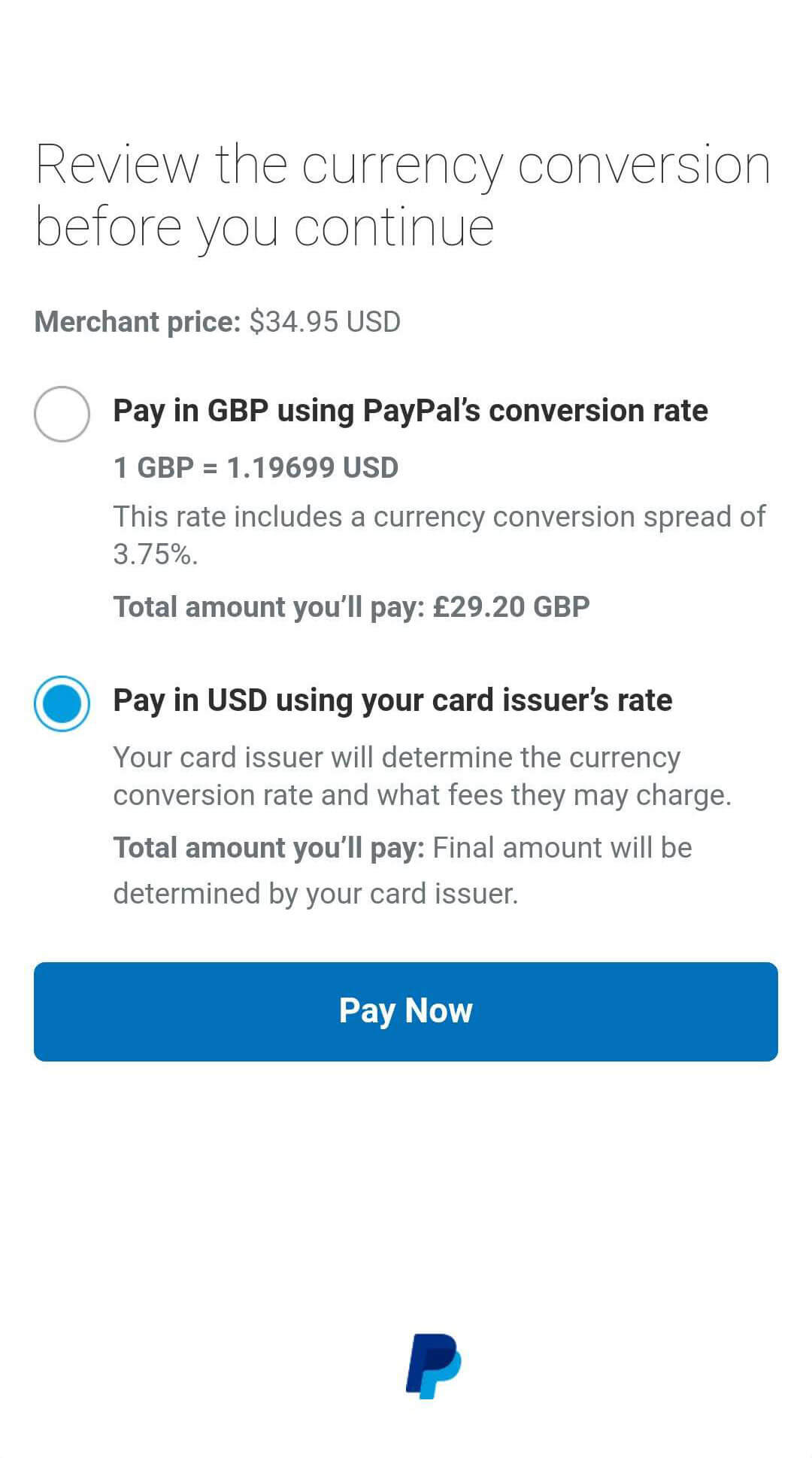 How to pay with PayPal by using credit card