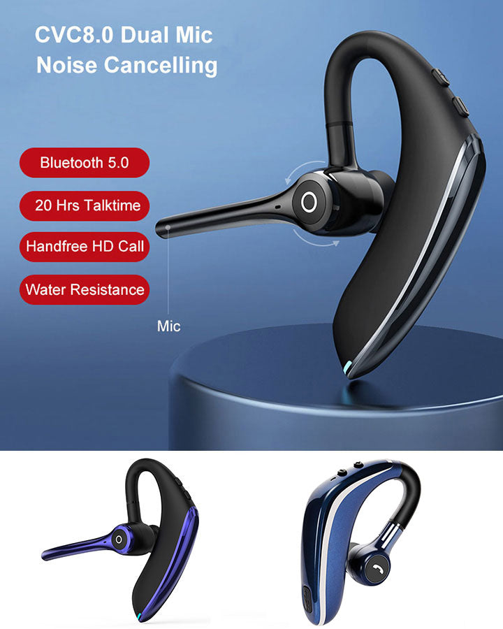 X01 and F910 Wireless Noise Canceling Bluetooth Headset