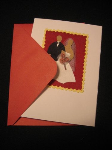 """For Better or Worse"" Recycled Wedding Card (RF13) Set of 5 - Rwanda"