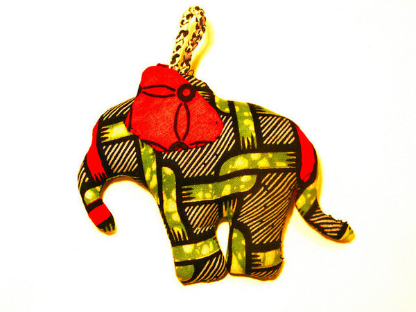 Elephant Pillow Ornament
