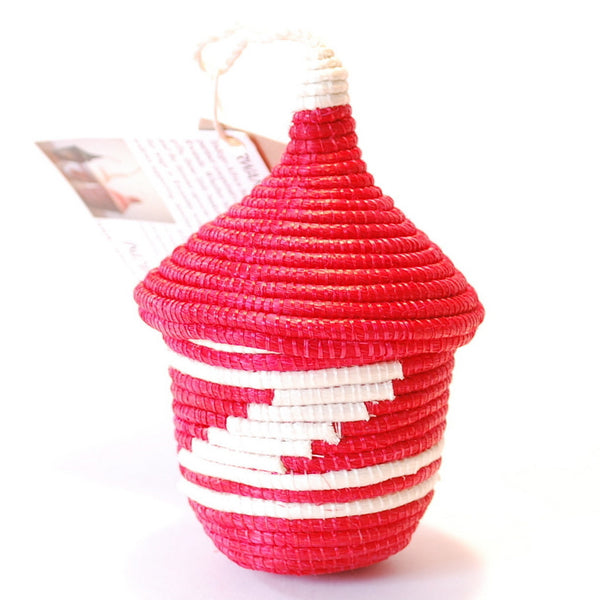 Agaseke Basket Ornament