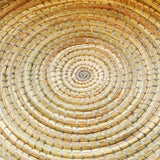 Large Woven Platter - Natural