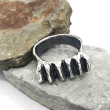 Load image into Gallery viewer, Chunky Ridges Sterling Silver Ring