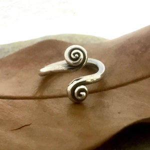 Spiral Wrap Sterling Silver Ring