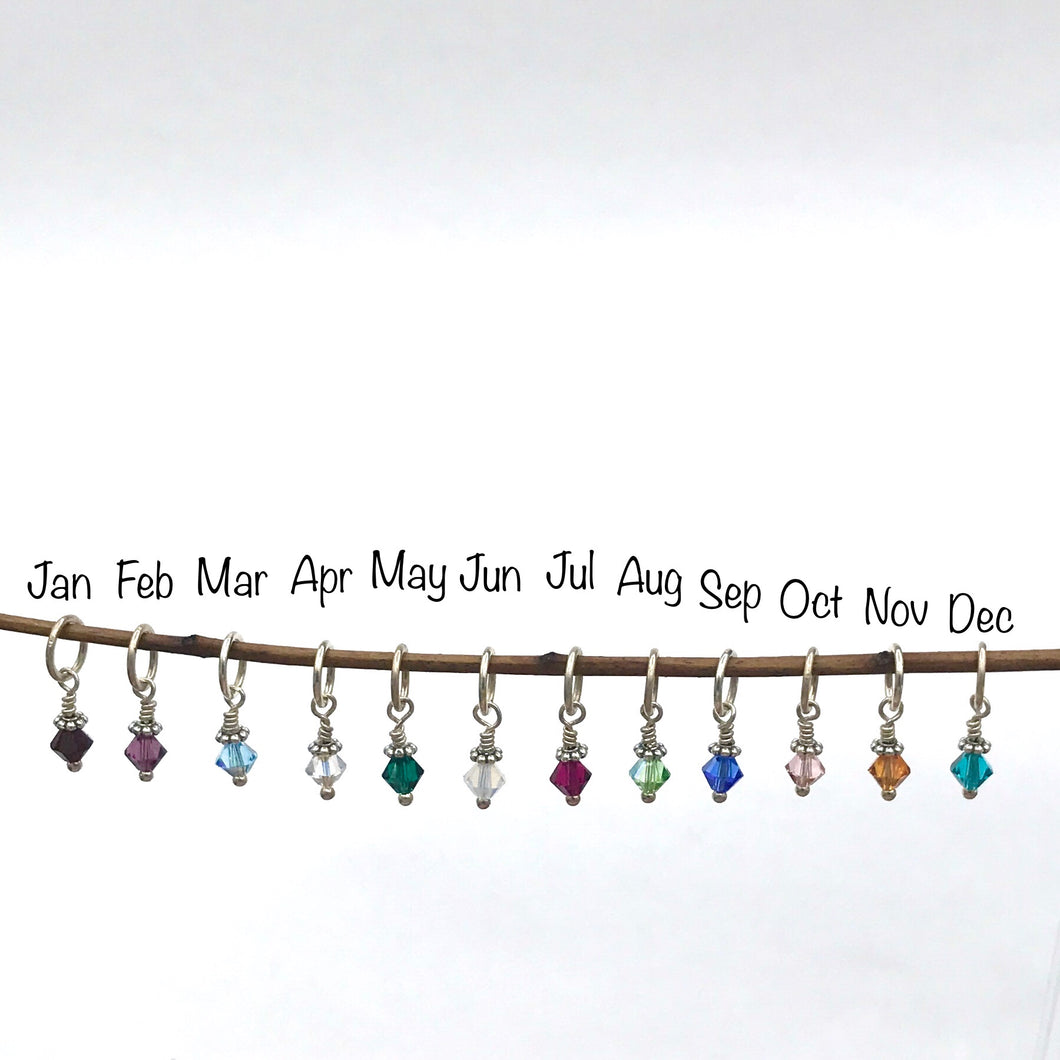 Swarovski Crystal Bead Drop Charms -Birthstone or just your favorite color