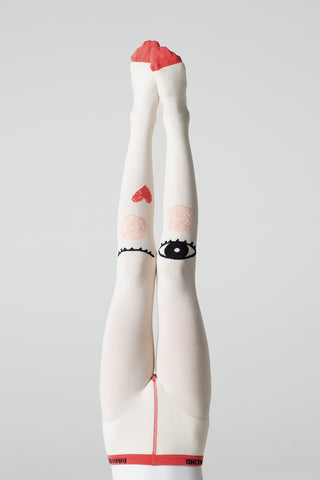 Queen of Hearts tights