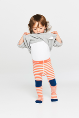 Braveling | Emberglow Stripe Little Titans tights