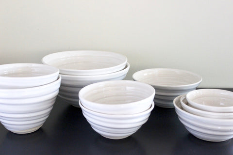 White Bowl BUNDLE