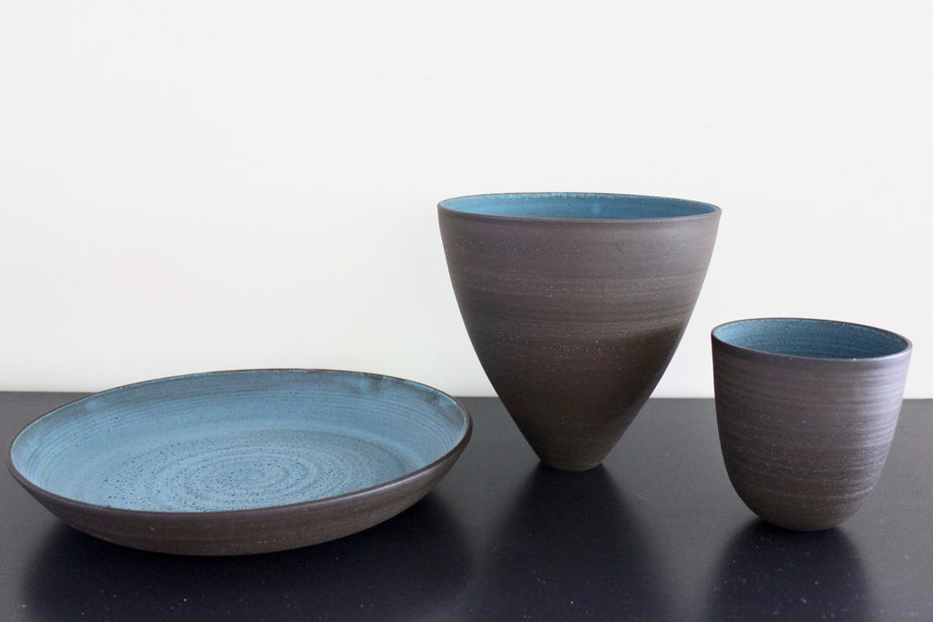 Dark aqua bowl variety BUNDLE