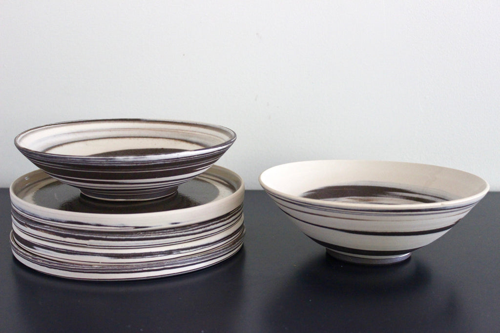 STRATA Plate and Bowl BUNDLE