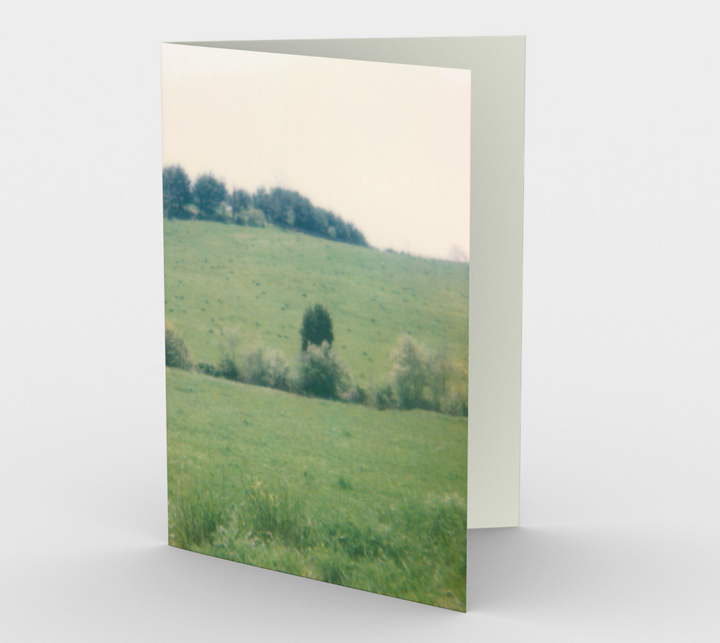 Green Field Note Card Set (3 pack)