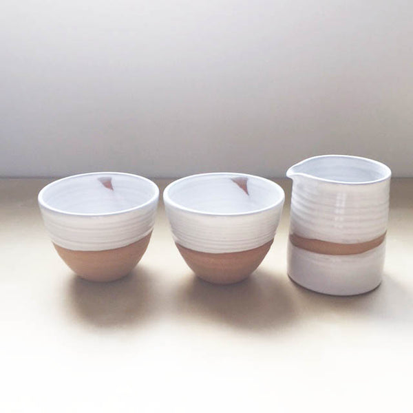 Tea Bowls and Pitcher BUNDLE