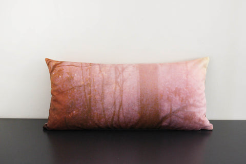 Deep Forest (orange) Pillow Cover