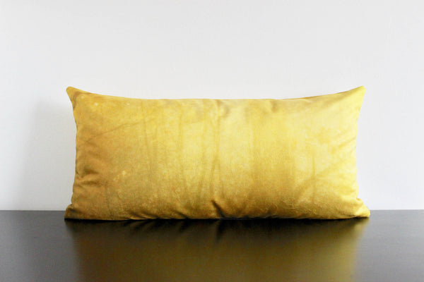 Deep Forest Pillow Cover (yellow)