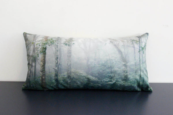 Green Forest Pillow Cover