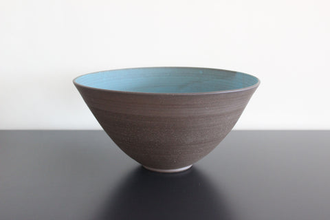 Dark aqua large bowl