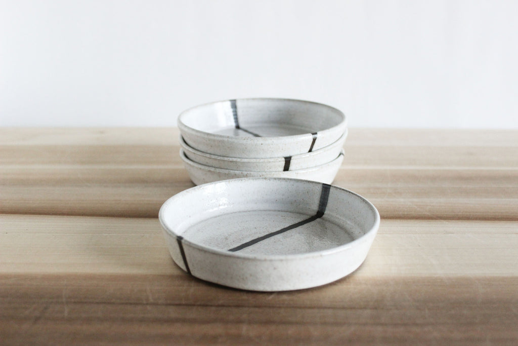 Low prep and serve bowls, s/4