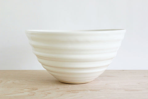 White bowl, 8in.