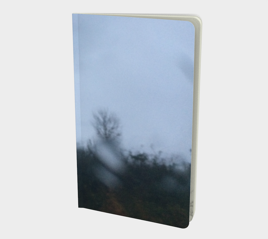 Blur Rain 9 Notebook