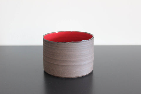 Small Red CLIFF Bowl,