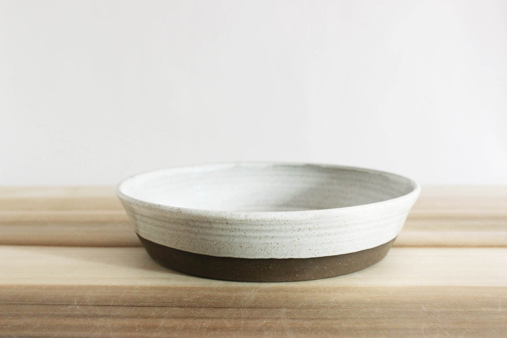 Low bowl, 8 in.