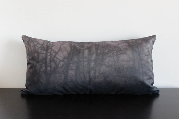 Dark Forest Pillow Cover (tobacco)