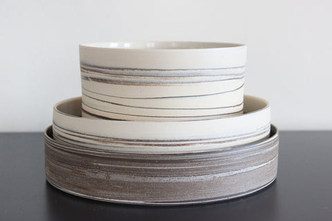 STRATA low bowl, 9.5 in.