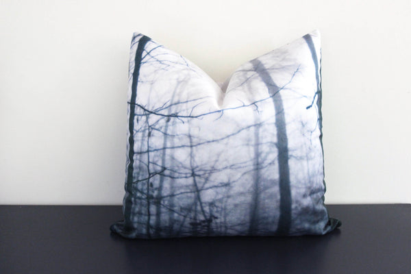 Tree Fog Pillow Cover