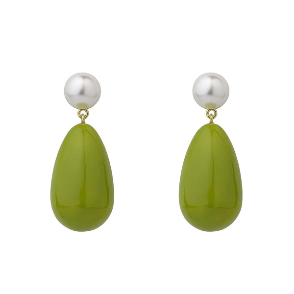 Pearl Mix Drop Earrings