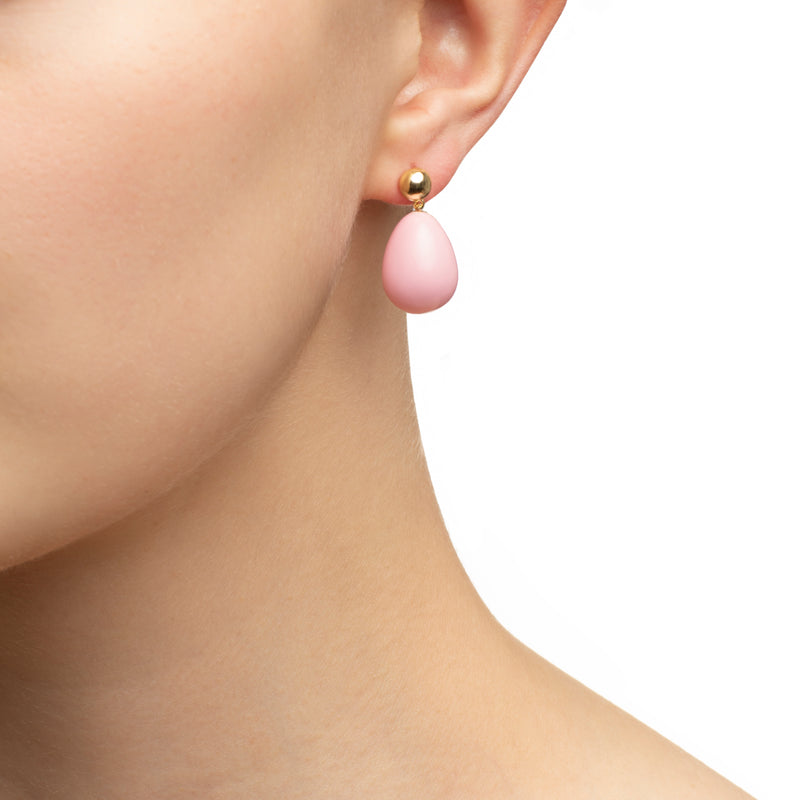 Pink Mini Drop Earrings