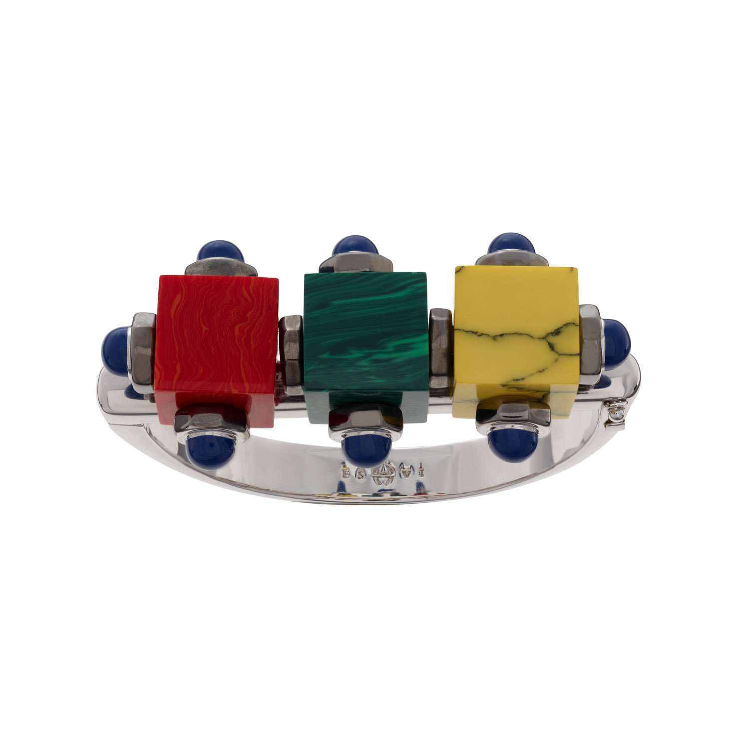 Eshvi: Colourful robot cuff | Jewelry > Bracelets,Jewelry -  Hiphunters Shop