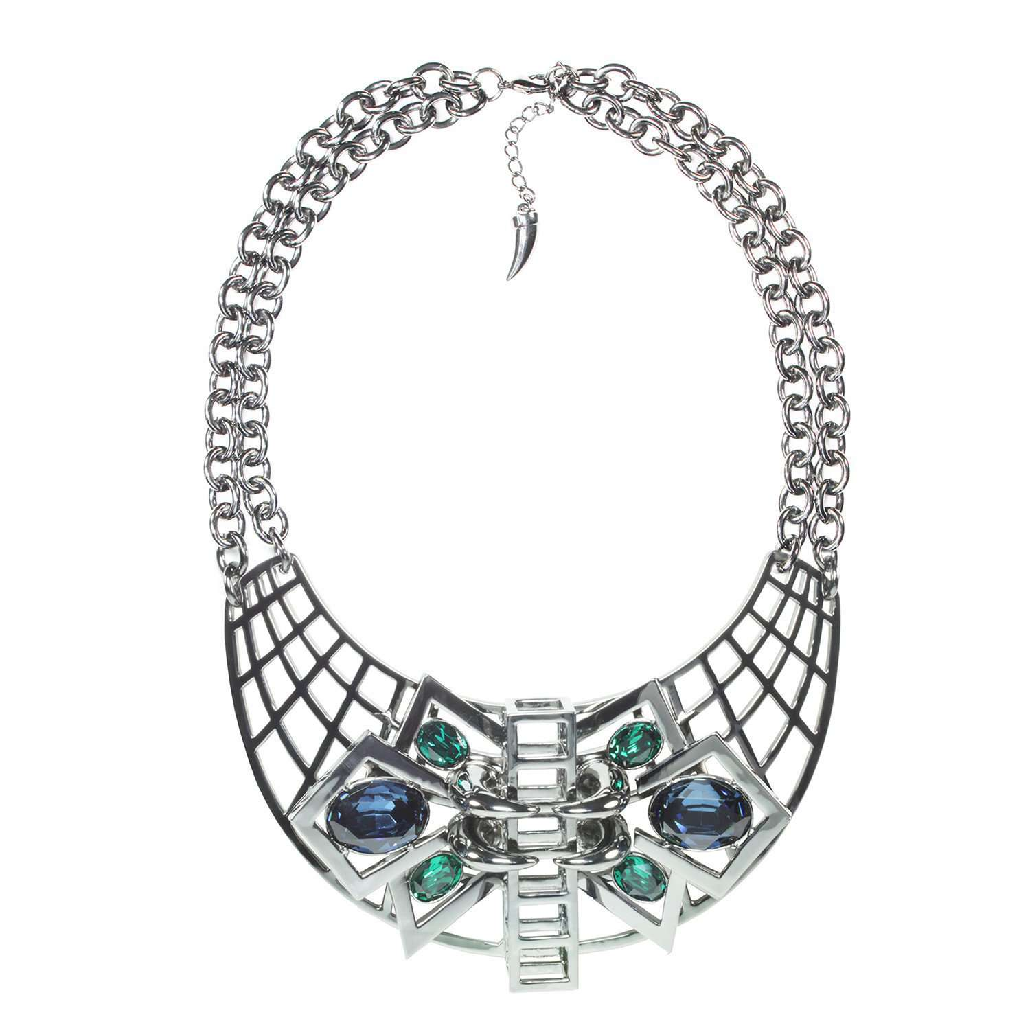 Eshvi: Gatsby glamour necklace - Hiphunters Shop