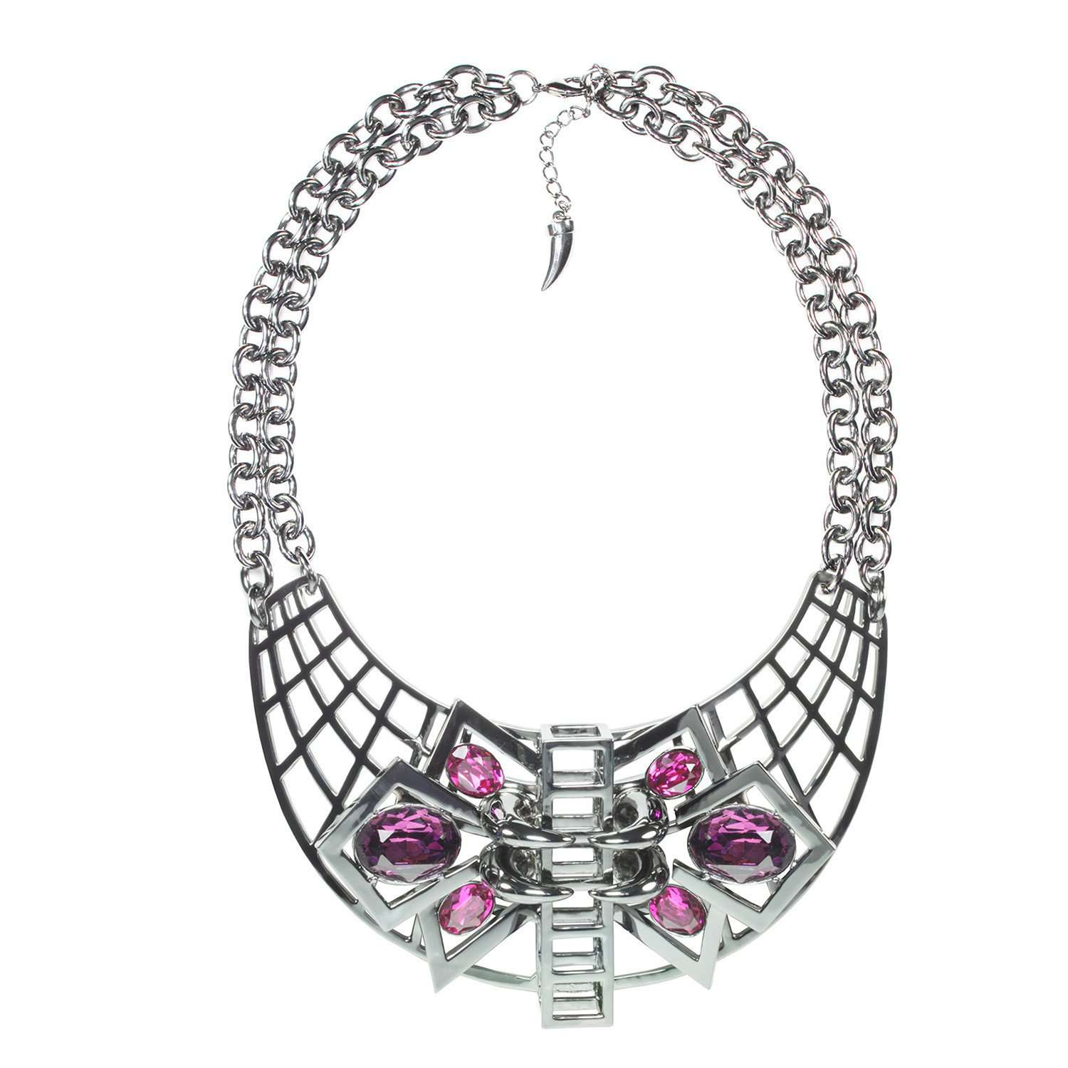 Eshvi: Gatsby glamour necklace | Jewelry > Necklaces,Jewelry -  Hiphunters Shop