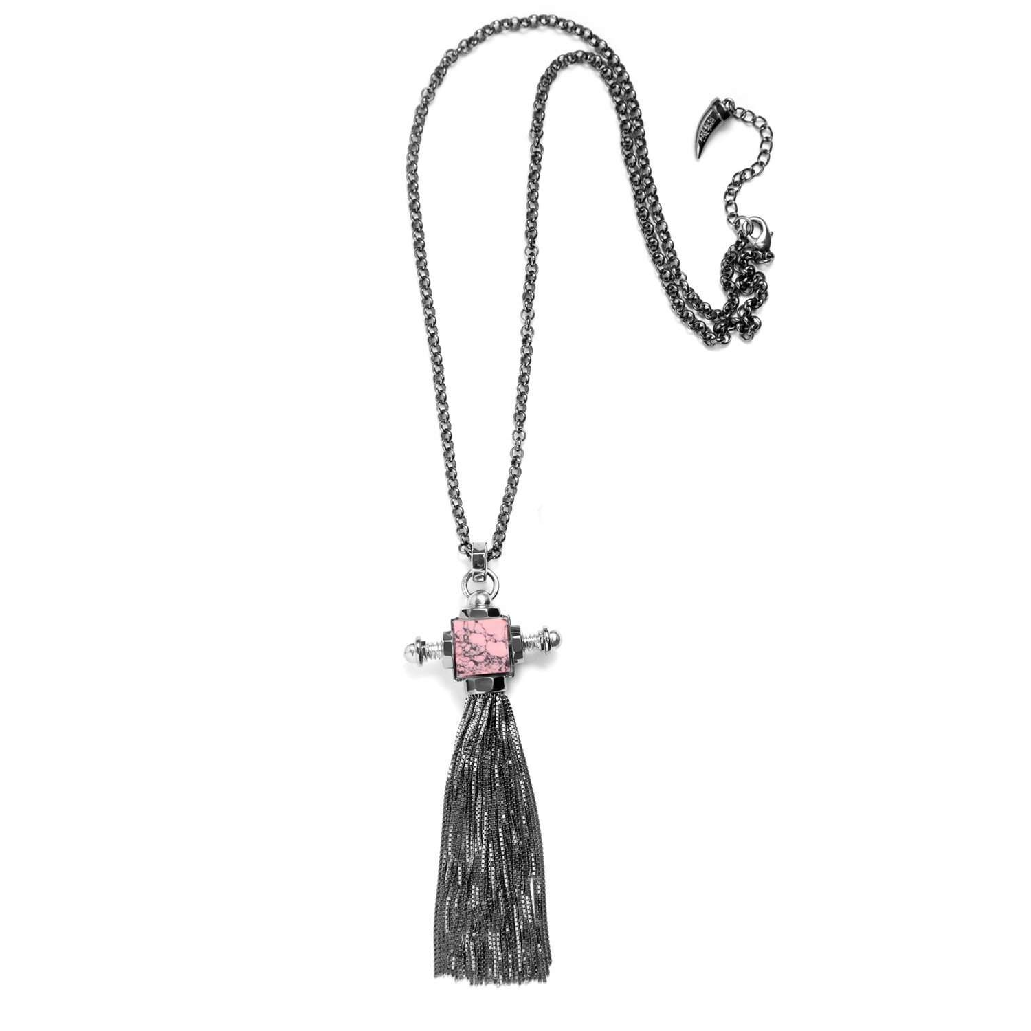 Eshvi: Robot tassel necklace | Jewelry > Necklaces,Jewelry -  Hiphunters Shop